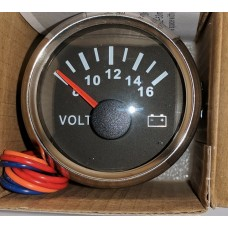 Voltage Gauge 8 volt - 16 volt